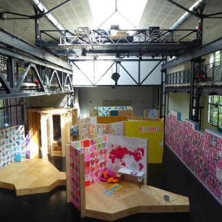 Große Halle Ausstellung 1, 2, 3 Kultummel