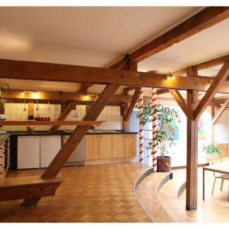 Ansicht Küche und Speisesaal